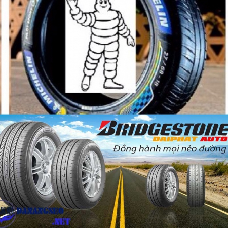 So sánh ưu nhược điểm của lốp Michelin và Bridgestone