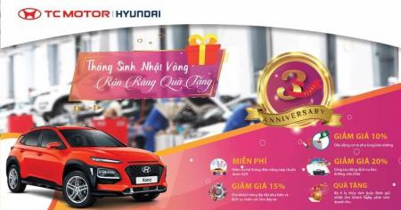Mừng sinh nhật Hyundai Sơn Trà Đà Nẵng lần thứ 3 - Tháng 5 ưu đãi ngập tràn đầy