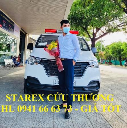 Hyundai Starex cứu thương - Xe chuyên dụng bán chạy nhất mùa dịch