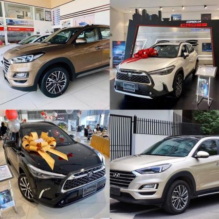 Hyundai Tucson và Toyota Corola Cross bản đặc biệt 2020