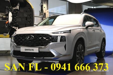 Giá bán tham khảo của Hyundai Santa Fe FL 2021 bản nâng cấp tại Việt Nam