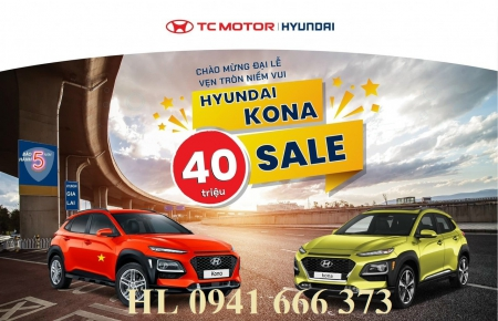Hyundai Kona đặc biệt Đà Nẵng 2021 - Giảm giá và phụ kiện lên đến 43 triệu đồng - Đón lễ 30.4 và 1.5