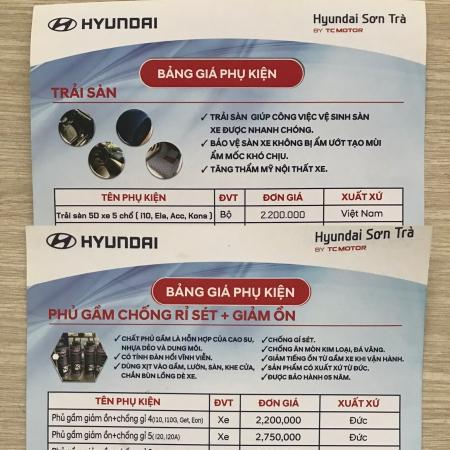 Đồ chơi và phụ kiện ô tô Hyundai Đà Nẵng
